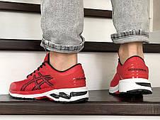 Чоловічі кросівки Asics Gel-Kayano 25,сітка,червоні, фото 3