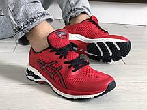 Чоловічі кросівки Asics Gel-Kayano 25,сітка,червоні, фото 2