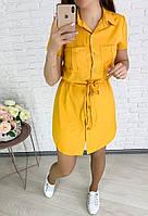 Женское платье-рубашка ,платья рубашка,платья большие