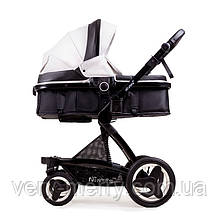 Универсальная коляска Ninos Bono 2 в 1 (белый/черный цвет)