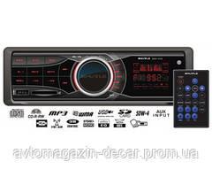 "Магнитола-FM - ""Shuttle"" - SUD350 - (Black/Red)/USB/SD/пульт/усил. кач.звука/4х50W   (5шт/ящ)"