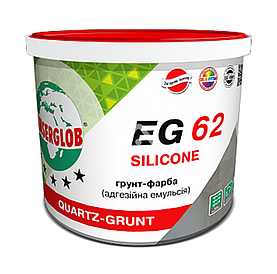 Грунт-краска силиконовая Anserglob EG-62 5 л (7.5 кг) Anserglob