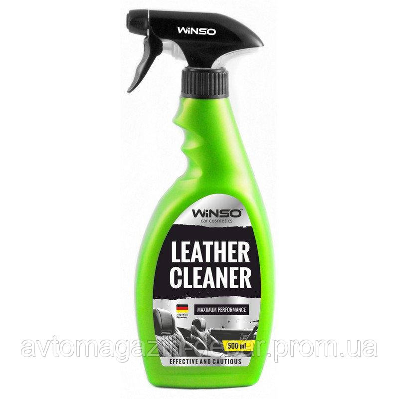 "Очиститель салона- кожа тригер  500ml  ""Winso"" Leather Cleaner 810580   (24шт/уп)"