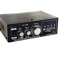 Усилитель звука CM-699D (MP3 и FM тюнер/USB/SD/220V или 12V 5A Bas/Treble)4х канал