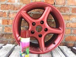 """Краска металлик жидкая резина 400ml  """"Belife""""  красный  R2600   (12шт/уп)"""