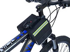 Сумка для велосипеда на раму «штани»