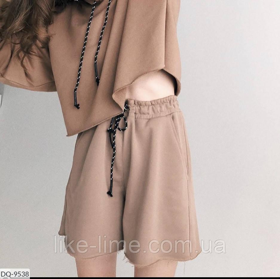 Женские шорты на резинке