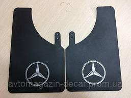 """Брызговики """"Mercedes"""" малые (2шт) """"Speed Master"""" (Логотип без надписи) (10шт/уп)"""