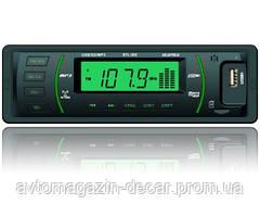 "Магнитола-FM - ""Starlite"" -  STL-302 - (Black/Green)/USB/SD/187х57х40мм/2x15W"