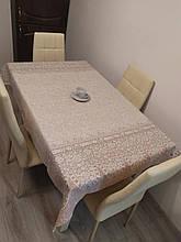 Скатерть столовая 220х150 см из рогожки Буржуа TRA-3-324