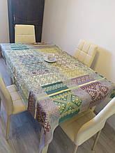 Скатерть столовая 220х150 см из рогожки Герда TRA-3-322