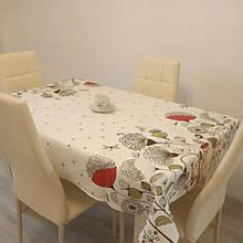 Скатерть столовая 220х150 см из рогожки Одуванчик TRA-3-310