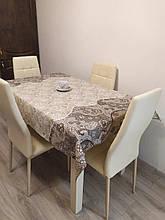 Скатерть столовая 220х150 см из рогожки Пастель TRA-3-326