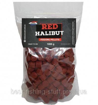 Пеллетс прикормочный Red Halibut 16 mm 1 kg