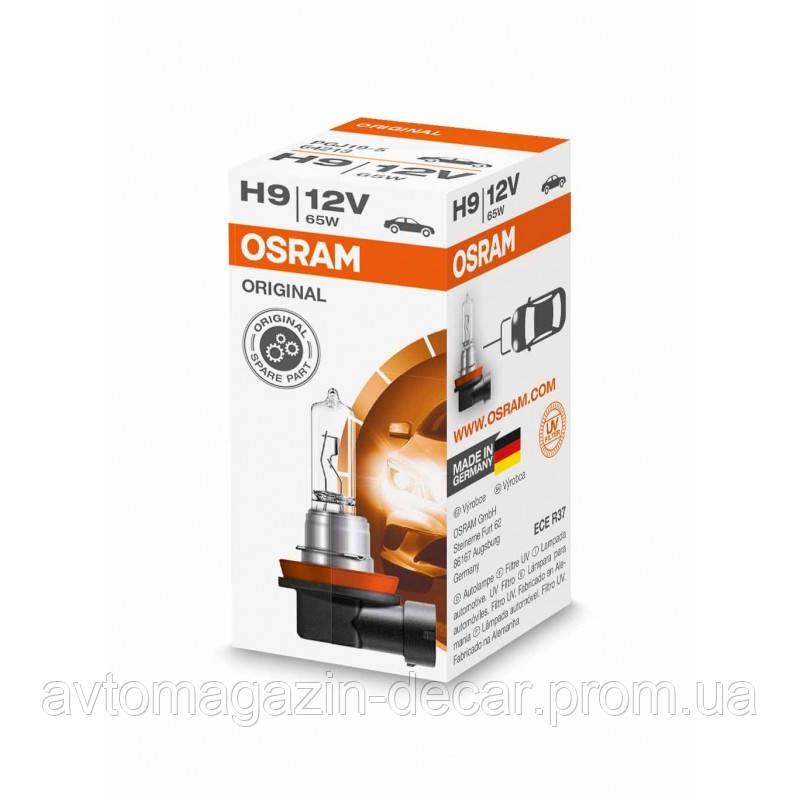 """Лампа 12V H9  65W Original Line """"Osram"""" (1шт)  (64213)"""