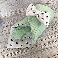 Конверт-одеяло на выписку для новорождённого
