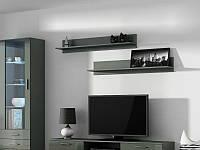 Полка Soho S-5 комплект из 2-х полок серый (модульная мебель)(CAMA)