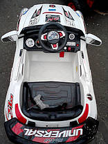 Детский Электромобиль Джип BMW X8 белый на радиоуправлении, фото 3