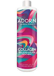 Состав для коллагенового восстановления волос Adorn Collagen Brazilian Keratin Treatment, 960 мл