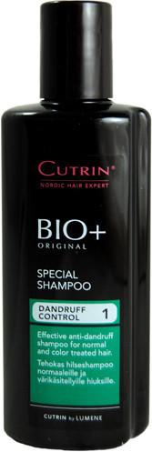 Cutrin BIO+ Special Shampoo Dandruff Control 1 Специальный шампунь против перхоти, 200 мл.