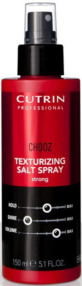 Текстурирующий спрей сильной фиксации Cutrin Chooz Texturizing Salt Spray strong, 150 мл