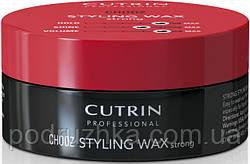 Матовый воск экстра-сильной фиксации Cutrin Chooz Matt Wax super strong , 100 мл