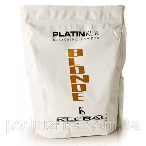 Kleral System Coloring Line Platinker Bleaching Powder - Осветляющая пудра с антижелтым эффектом, 15 мл. (сашет)