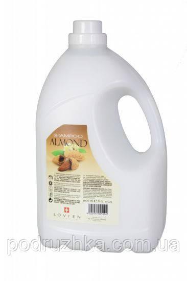 Шампунь миндальный Lovien Essential Almond Shampoo, 4000 мл