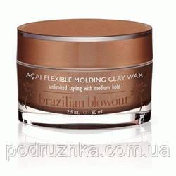 Восстанавливающий воск-глина для волос Brazilian Blowout Define&Sculpting Paste, 60 мл