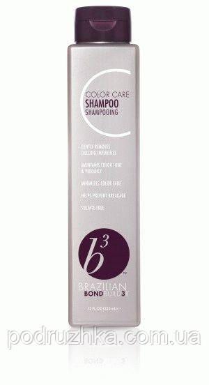 Шампунь для окрашенных волос Brazilian Blowout B3 color care shampoo, 350 мл
