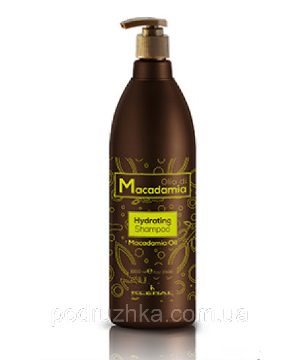 Увлажняющий шампунь с маслом макадамии Kleral System Macadamia Hydrating Shampoo, 1000 мл