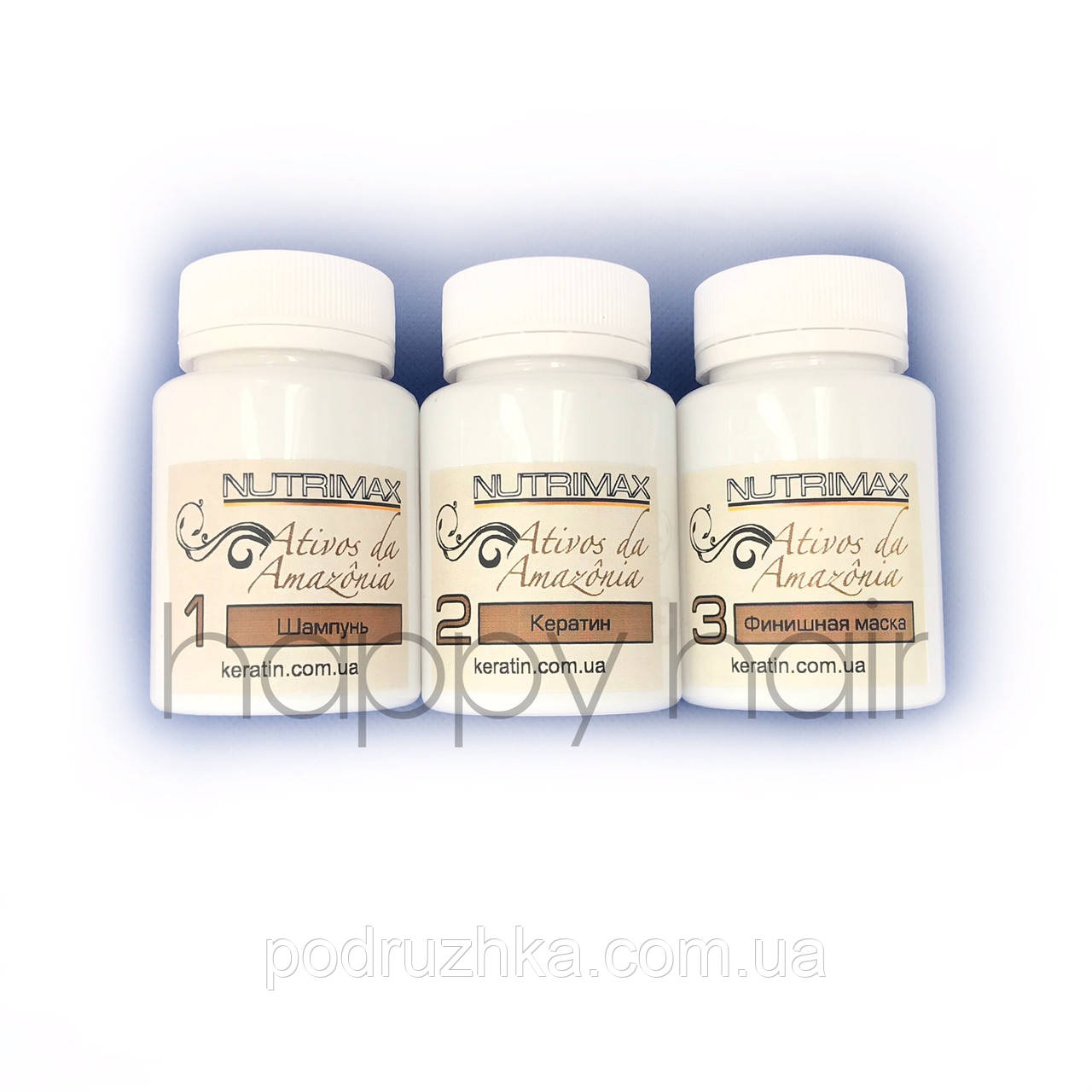 Nutrimax Soller Kit Набор кератина для волос 3x200 г
