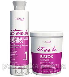 Let me be B-Btox Anti-aging Набор ботекс для волос 2х1000 мл