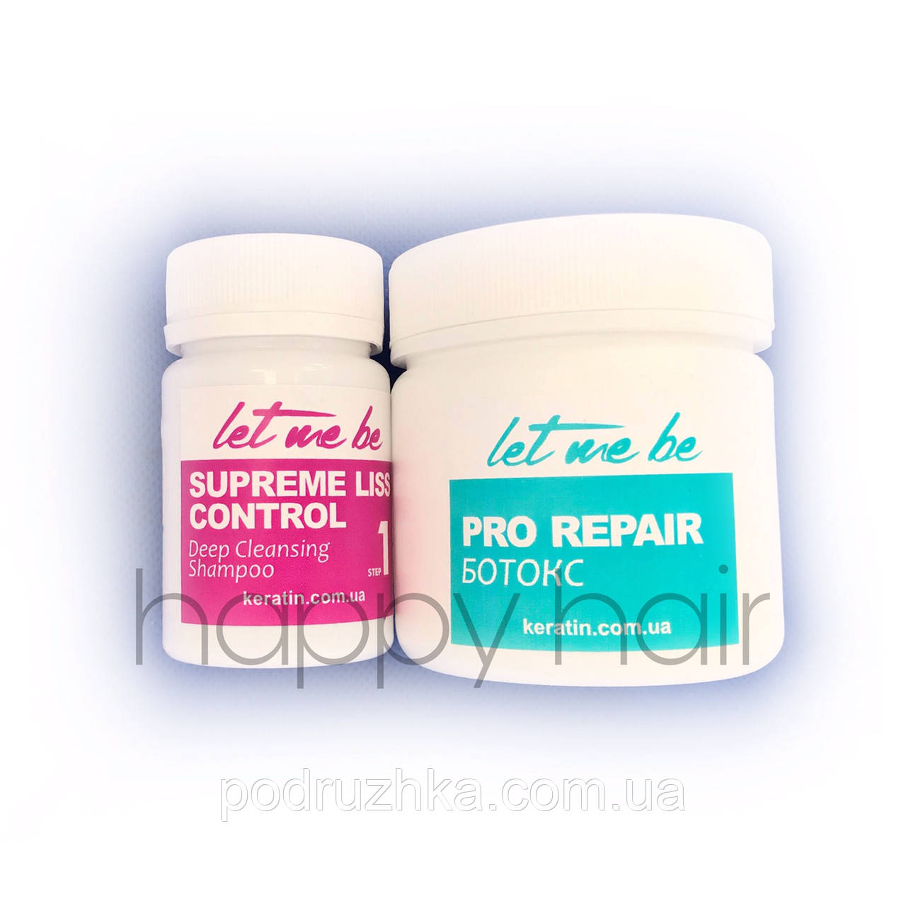 Let me be B-Btox Pro Repair Набор холодный ботекс для волос 50/100 мл (разлив)