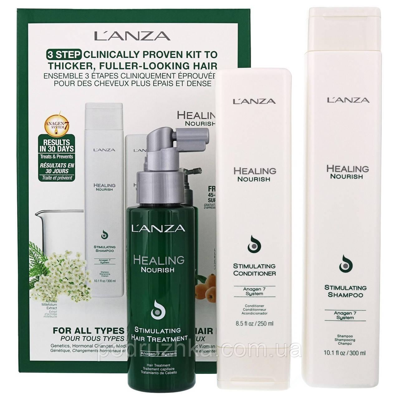 Lanza healing nourish real kit Набор для восстановления и стимуляции роста волос