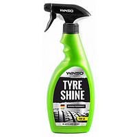 """Очиститель-чернение резины тригер  500ml  """"Winso"""" 810630 / на силиконе   (24шт/уп)"""