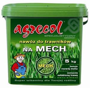Удобрение Agrecol для газонов от мха 5 кг