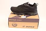 Кроссовки Bona черные мужские, фото 3