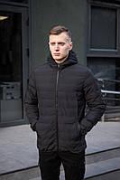 Куртка мужская демисезонная черная, фото 1