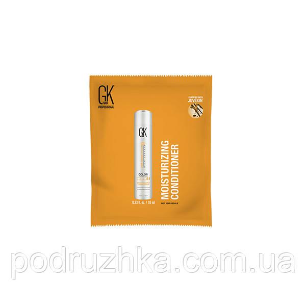 Зволожуючий кондиціонер GKhair Moisturizing Conditioner (Global Keratin), 10 мл