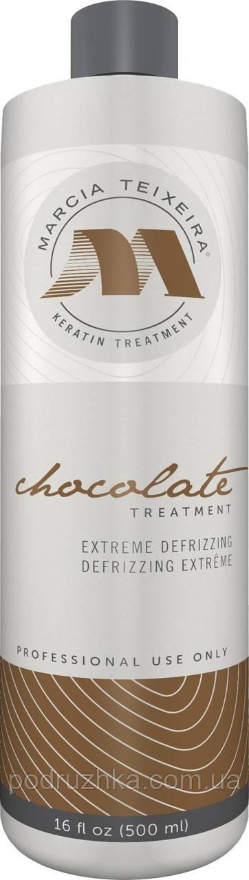 Состав для кератинового выпрямления волос Marcia Teixeira Chocolate, 500 мл