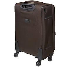 Чемодан малый  BagHouse 36х57х23(+3) коричневый с расширением    ксГЦ868корм, фото 2