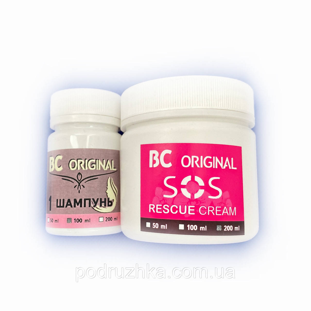 Бoтoкc BC Original SOS Rescue Cream ESK Professional, набор 100/200 мл