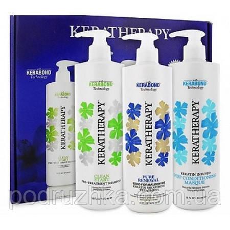 Набір для кератинового випрямлення волосся Keratherapy Pure Renewal