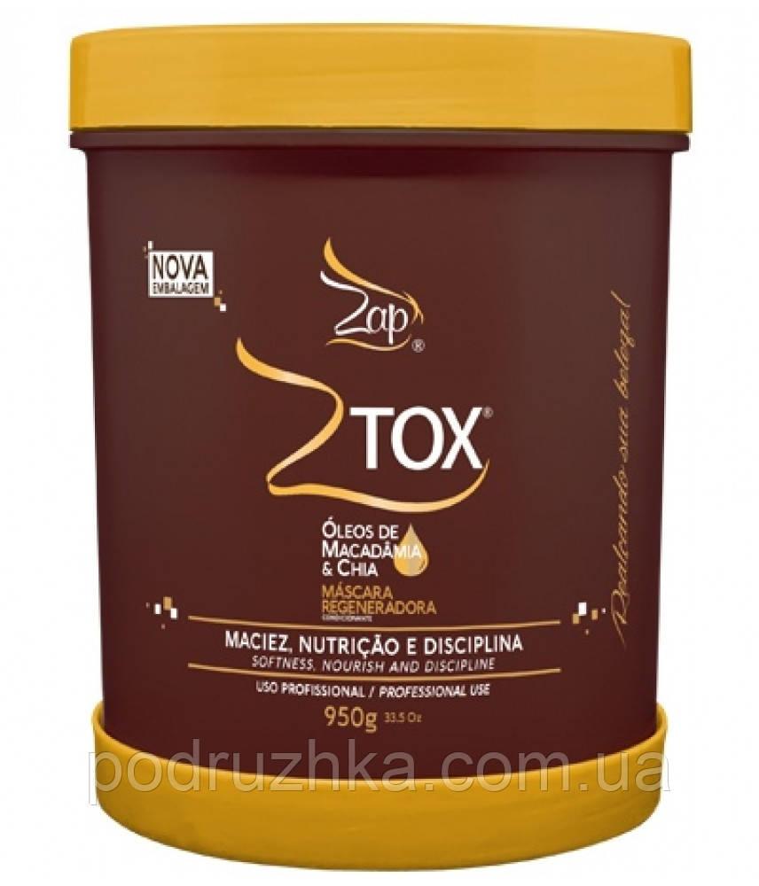 Ботекс для волос Zap Ztox Oleos De Macadamia & Chia 950 г