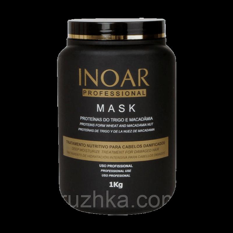 Maска для волос Inoar Macadamia Маsk (Иноар Макадамия), 1000 мл