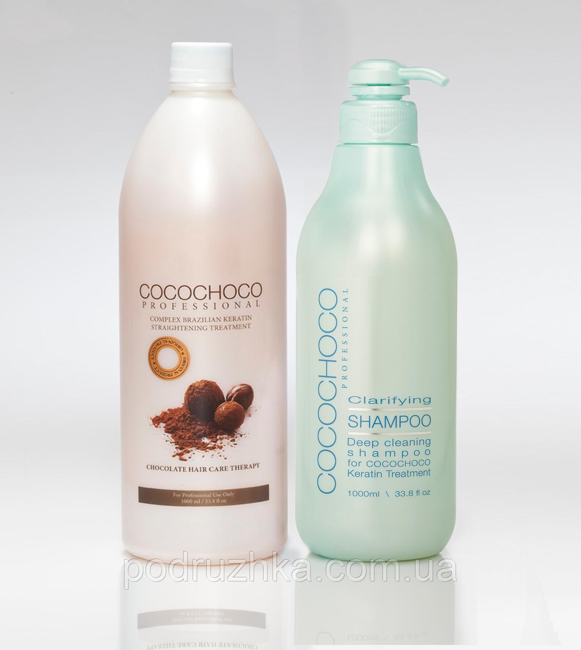 Набор для кератинового выпрямления волос Cocochoco Original, 2х1000