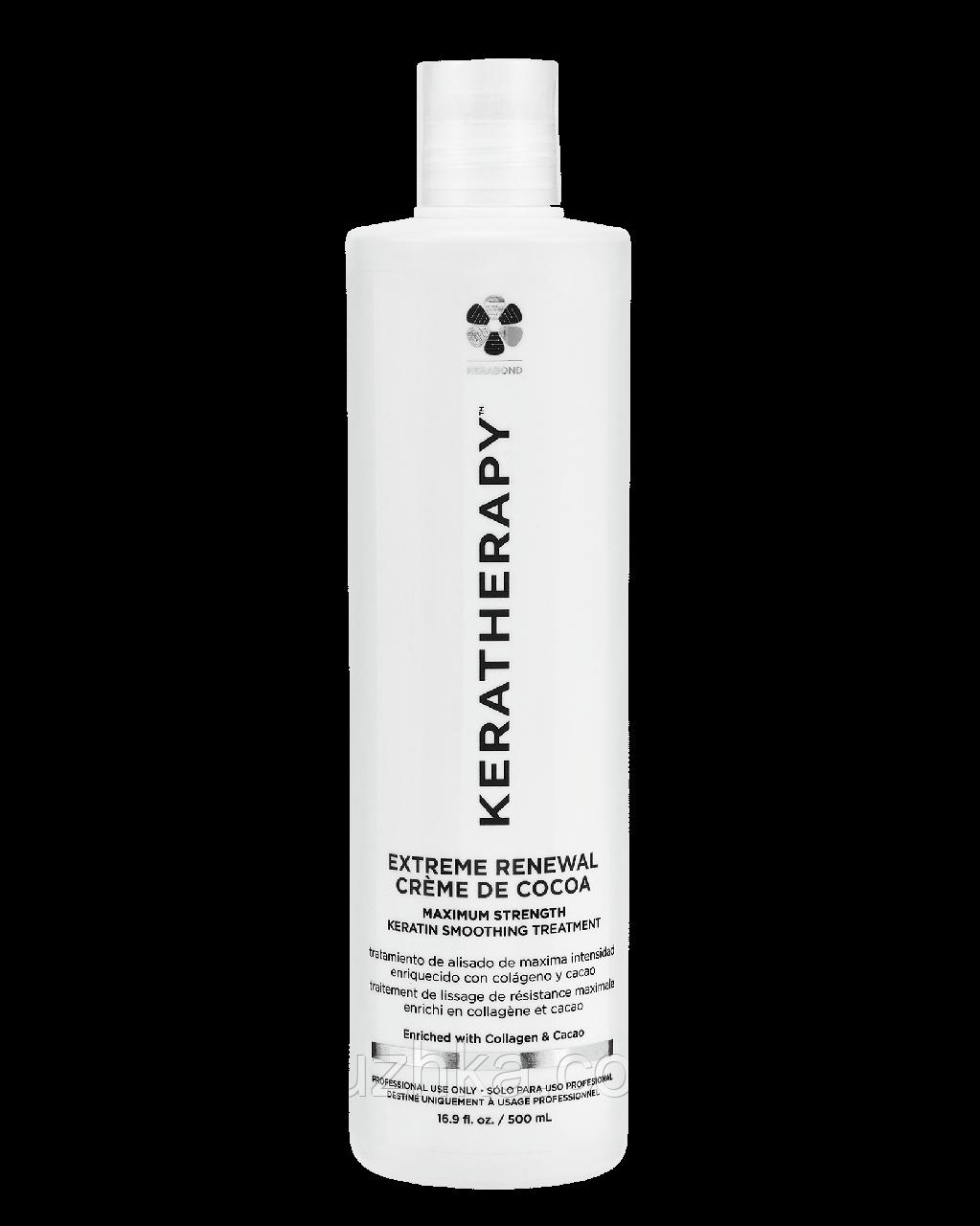 Кератин для выпрямления Keratherapy Extreme Renewal Creme de Cocoa 500 ml