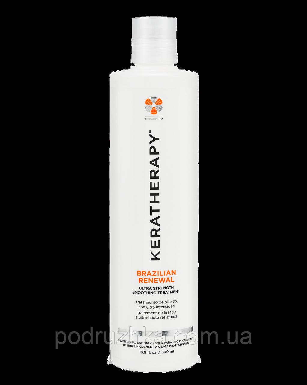 Кератин для выпрямления Keratherapy Brazilian Renewal 100 ml
