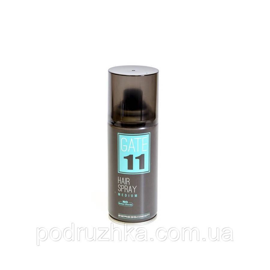Сухой лак средней фиксации Emmebi GATE11 Hair Spray Medium, 100 ml